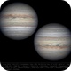 Jupiter 11 Jun 2018 - 6 min derotation,                                Seb Lukas