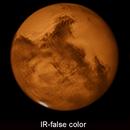 Mars 01.10.2020 False color,                                Uwe Meiling