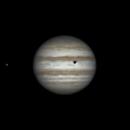 Rotation of Io, Jupiter and shadow of Callisto (21:11-22:38, 26 feb 2015),                                Star Hunter