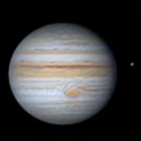 """Jupiter  2021-06-30 44,9"""" arcsec,                                Lucca Schwingel Viola"""