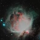 M 42 - Orion Nebula - L-Enhance Filter,                                Carl Newberg