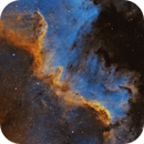 NGC 7000 - The Wall,                                Casey Good