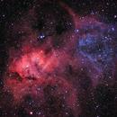 The Lion Nebula,                                Jonathan Piques