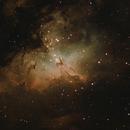 M16, the Eagle Nebula,                                 degrbi