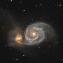 M51 The Whirpool Galaxy,                                Pavel Karavatskiy