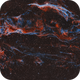 Western Veil Nebula HOO,                                Chad Andrist