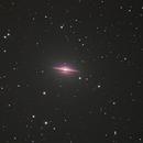 M104, Sombrero Galaxy,                                Mark Bailey