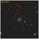 M33-EC1 and M33-EC2 globular clusters,                                Giuseppe Donatiello