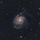 M101 - Pinwheel Galaxy in RGB,                                Simon Todd
