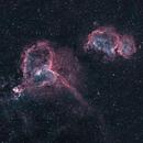 Heart and Soul Nebulas in HSOO,                                Jérémie