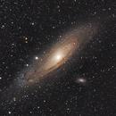 M31 Andromeda Galaxy - 2 Pane Mosaic,                                Gideon Golan