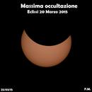 Momento di massima occultazione Eclissi 20 Marzo 2015,                                Spock