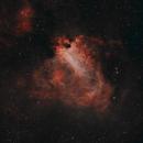 M17 The Omega Nebula,                                Dcox17