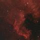 NGC7000 (NAN) HaRGB - 23 June 2020,                                Geof Lewis