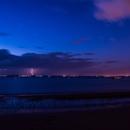Storm, sky, sea and Cassiopeia,                                Olivier