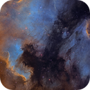 NorthAmerica and Pelican Nebula NB,                                Juan Lozano