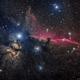 IC434 (NGC2023,Barnard 33) - HorseHead Nebula (LRGB),                                Richard Bratt