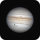 Jupiter redspot and Ganymede,                                chuckp