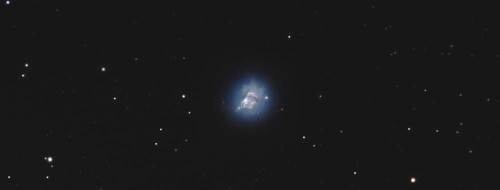 NGC 7027, the pillow nebula,                                Exaxe