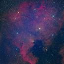NGC 7000  color lab,                                angelo mazzotti