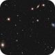 Messier 49 and nearby galaxies,                                  Delberson