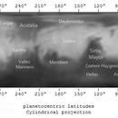 Mars 2014: Partial surface map,                                Andrea Vanoni