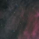 Dueling Nebulae Mosaic: KJPN 8 vs The Bubble,                                Josh Smith