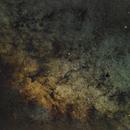 Widefield Capture of Clusters in Sagittarius,                                KiwiAstro