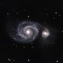Whirlpool Galaxy, M51,                                David Barrett