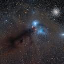 Emil Ivanov´ s NGC 6726 Molecular Complex - LRGB :-),                                Daniel Nobre