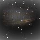 galaxy into andromeda,                                  Thomas Ebert
