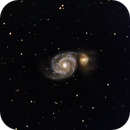 M51- Whirlpool galaxy,                                André Wiget