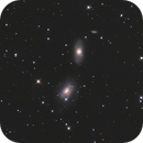 NGC3169 and NGC3166 LRGB,                                Christopher Gomez