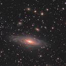 NGC 7331,                                Станция Албирео