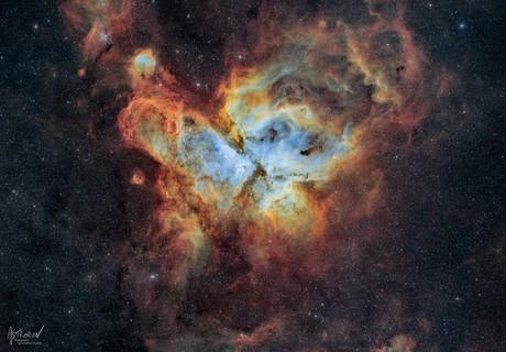 Carina Nebula - 2020 version,                                Jonathan Durand