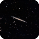 Splinter Galaxy (NGC5907) in LRGB,                                Jose Carballada