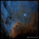 IC5070 Pelican Nebula in SHO,                                rayp
