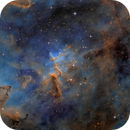 Melotte 15 IC 1805 FLI Kepler 4040 first light,                                Tolga