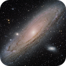 M31 Andromeda Galaxy,                                Swanny