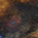 NGC6523 INSIDE THE MILLKYWAY,                                Shenyan Zhang