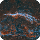 Western Veil Nebula,                                T Young