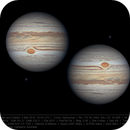 Jupiter and Callisto 3 Mar 2019 - First WinJ Composite,                                  Seb Lukas