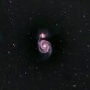Messier 51,                                simon harding