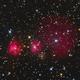 IC2162 Diffuse Nebula SH2-254 SH2-255 SH2-256 SH2-257 SH2-258,                                Jerry Macon