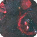 The Orion constellation HaRGB 4 panel mosaic,                                Bdm1010