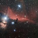Horsehead and flame nebula,                                  Mario Edelbauer