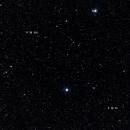 Messier 51 + 101 - wide field,                                AC1000