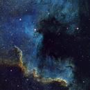 Cygnus Wall in NGC 7000,                                John Travis