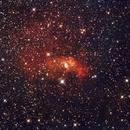Bubble Nebula,                                SJK