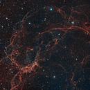 Simeis 147 (Sh2-240) - Supernova Remnant in Bicolor,                                Roman Pearah